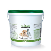 Aniforte Pure Brewer's Yeast 1000 G For Skin And Coat- Natural Product For Do...