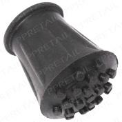 """Walking Stick Grip Cap End Ferrule Replacement 16mm 5/8"""" Spare Pad Crutch Cane"""