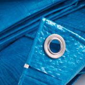 Waterproof Tarpaulin Camping Ground Sheet Lightweight 77g/psm Blue Me/duty Cover
