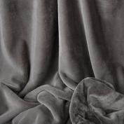 Bunnysoft Deluxe Baby Blanket, Smoke