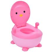 Costzon Baby Potty Toilet, Penguin Potty Training Seat Portable
