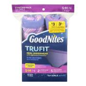 GoodNites Goodnites Trufit Real Underwear For Girls, Starter Pack Size S-M