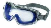 Uvex Stealth Reader OTG Over The Glasses Goggles With Navy Frame, 2.0 Diopter Clear Uvextreme Anti-Fog Lens And Neoprene Head Band
