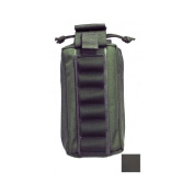 Elite Survival Systems MOLLE Quick-Deploy Shotshell Pouch - Holds 18, Black ME21