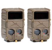 (2) CUDDEBACK E3 Black Flash No Glow Infrared Trail Game Hunting Cameras | 20MP
