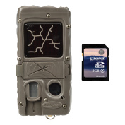 Cuddeback Dual Flash 20MP Invisible Infrared Game Trail Camera + 8GB SD Card