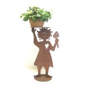 Fleur De Lis Living Cassandra Flower Girl Plant Stand