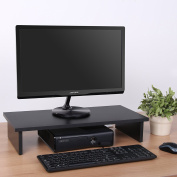 Fitueyes Computer Monitor Riser 12cm High 60cm Save Space Desktop Stand forflat Screen TV FDT106001WB