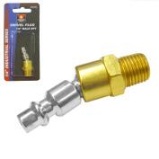 0.6cm Male Npt Swivel Plugs Coupler Air Hose Connector Tool Compressor