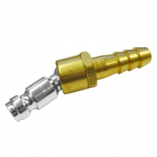 Neiko 1cm Hose Barb Swivel Plug Air Compressor Tool Swivel Ball Connector Coupler