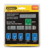 Stanley Staple Narrow Crown 1.3cm , 0.6cm , 1.1cm , 1cm , 0.8cm , 1.4cm Clamshell