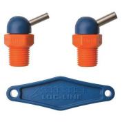 LOC-LINE 72062 Nozzle, CT Style, 1.6cm .dia, PK2
