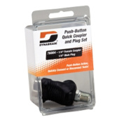 Dynabrade Products 76004 Push-Button Quick Coupler and Plug Set