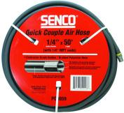 Senco PC0059 Quick Couple Air Hose, 1/4-5.5m x 15m, MPT, 250 psi, Nitrile Rubber