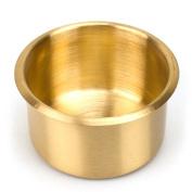 Jumbo Brass Drop-In Cup Holder