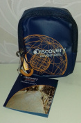 Dicovery Padded Pouch Blue/orange Metal Snap Link - Zipped Pack Your Curiosity