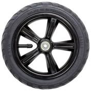 Frenzy 205mm Pneumatic Scooter Wheel W/bearings - Black