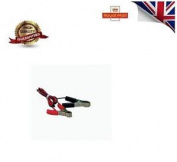 65mm 15a Crocodile Clip Connectors Red & Black Energizer To Tape Rope Wire