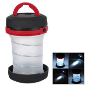 Portable Retractable Camping 3-mode Led Lantern Flashlight Torch Outdoor