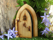 "Opening Country Cottage Fairy Door. Three-Dimensional ""Country Cottage"" Style Opening Fairy Door Wooden Self Assembly Craft Kit."