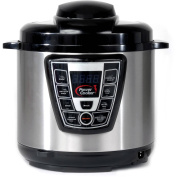 Refurbished Power Cooker PC-WAL1 5.7l Pressure Cooker, Silver
