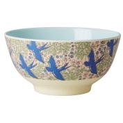 Rice Two Tone Melamine Swallow Bowl