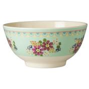 Rice Melamine Flower Bowl