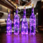 AGPtek 4PCS Cork shape lights Bottle Mini String Light 80cm for Decoration