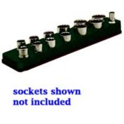 Mechanics Time Saver 712 3/8 in. Drive Magnetic Black Socket Holder 5.5-22mm