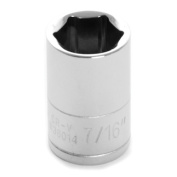 Performance Tool W36014 Chrome Socket, 0.6cm Drive, 1.1cm , 6 Point, Shallow