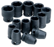 Rel Products, Inc. ATD-2301 6-point Metric Impact Socket Set, 13 Pc.