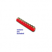 1/2 in. Drive Magnetic Rocket Red Socket Holder 10-19mm