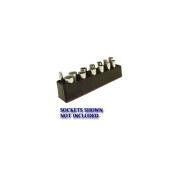 3/8 in. Drive Deep Neon Blue Socket Holder 5.5-22mm