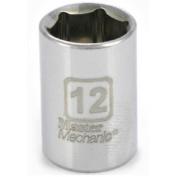 """1/4"""" Dr 12Mm 6Pt Socket Master Mechanic Socket 213212 052088055854"""