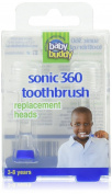 Baby Buddy Sonic 360 replacement heads 2ct Blue