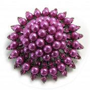 Pin creator 'Scarlett' pink purple.