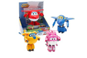 Super Wings 70710201 – Convertible Aircraft 12 cm 1 piece And Assorted