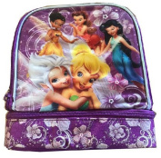 Disney Tinkerbell Fairies Lunchbox Lunch Bag Two Compartment