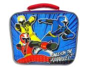 Power Rangers Unleash The Power Soft Insulated Lunchbox School Cooler Bag Zipper