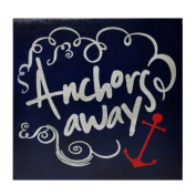 Cheungs Anchors Away Textual Art on Canvas