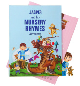 Personalised Children's Book of Nursery Rhymes and Modern Poems - A Beautiful Keepsake Gift for Birthdays or Christenings