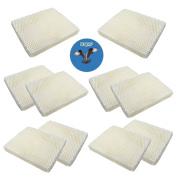 HQRP 10-Pack Wick Filter for Vornado MD1-0034 Replacement fits EV100, EVDC300, EVDC500, Evap2, Evap40 Evaporative Humidifiers + HQRP Coaster