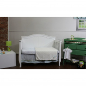 Nurture Imagination Basix Baby Blue Corduroy Owl 3-piece Bedding Set