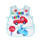 TRENDINAO Toddler Boys Girls Bibs Waterproof Feeding Apron Saliva Towel Baby Bibs