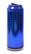 Cool Gear 473ml Boys Pixels Blue Drinks Can Blue