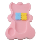 HS Infant Baby Bath Sponge Cushion
