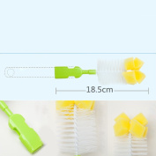 6 In 1 Bottle Cleaning kit Nipple Brush Set for Bottle Nipple Brushing