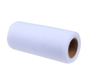 25Yards/Lot 15cm Tissue Tulle Roll Paper Wedding Decoration Spool Craft Birthday Party Baby Shower Wedding Decor Supplies - White