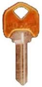 Kaba Ilco SC1-PC-AMBER Schlage Lockset Amber Key Blanks
