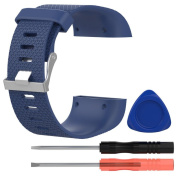 For Fitbit Surge Band , Toamen Large Replacement Wristband Band Strap Clasp Buckle Tool Kit For Fitbit Surge